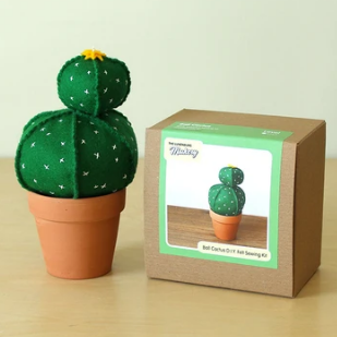 Ball Cactus Felt Sewing Kit - Lunenburg, NS