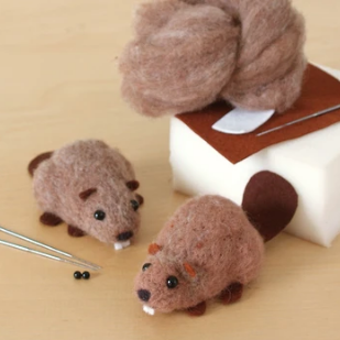 Canadian Beavers Felting Kit - Lunenburg, NS
