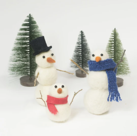 Snow Buddy Felting Kit - Lunenburg, NS