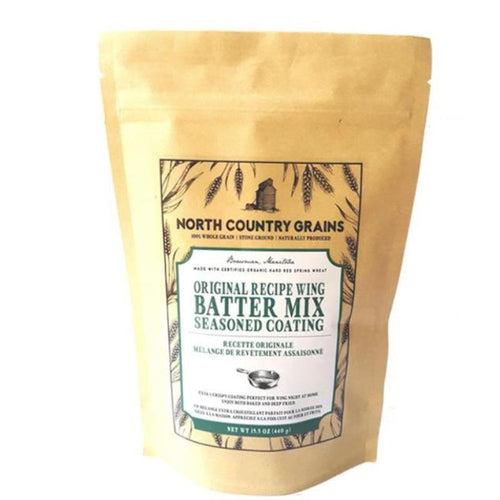 Wing Batter Mix Seasoned Coating - Bowsman, MB
