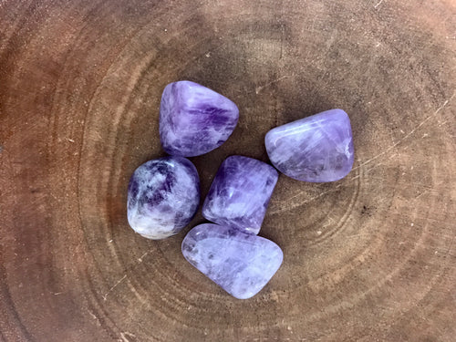 Amethyst Tumbled Stone Set - Small