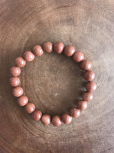 Red Sandstone Creativity Bracelet