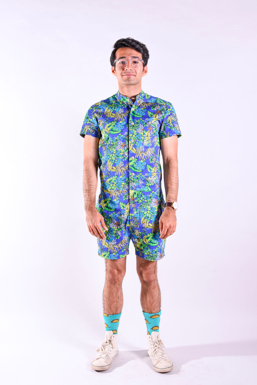 bf8fc3bef3b3 Tropical Print romper.  119.00. Notify me when ...