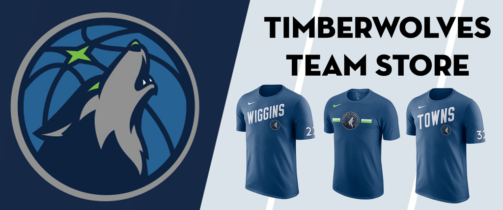 newest 49f95 d92a5 Timberwolves Team Store