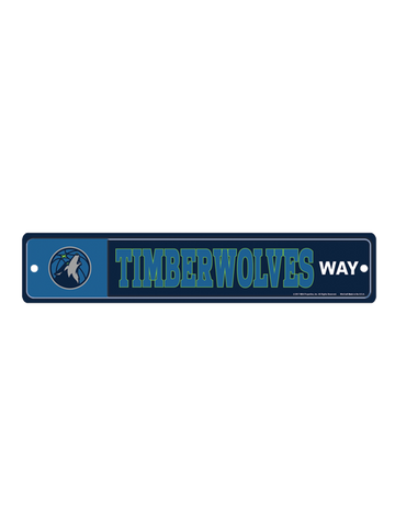 Minnesota Timberwolves Metal License Plate Frame
