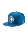 Minnesota Timberwolves On Court Reverse Lux Mesh Faux Suede Fit Cap