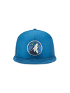 Minnesota Timberwolves On Court Team Color Pom Knit Cap