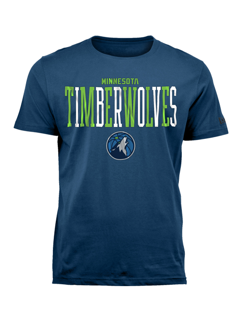 Minnesota Timberwolves Alternate Letter T-Shirt