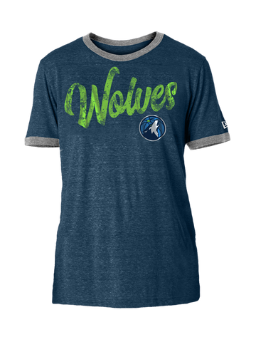 Minnesota Timberwolves Block Stripe Club T-Shirt