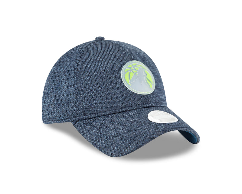 Minnesota Timberwolves Women's 9TWENTY On Court Team Adjustable Cap - Timberwolves Team Store