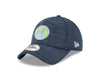 Minnesota Timberwolves 5950 On Court Black Lux Mesh Faux Suede Fit Cap