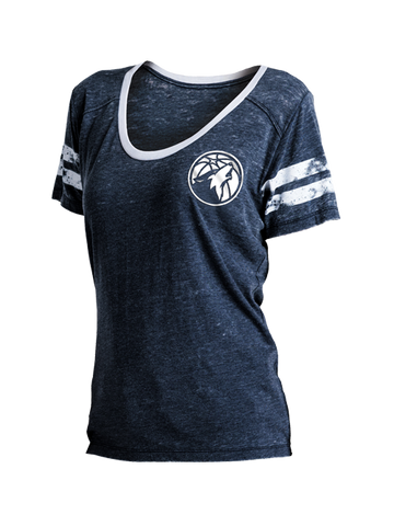 Minnesota Timberwolves Icon Polo - Navy