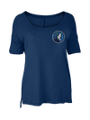 Minnesota Timberwolves Women's Essential Full Zip Hoodie
