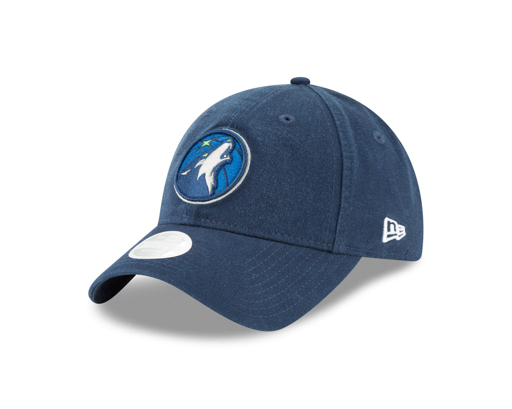 sale retailer 9f1ec f975a Minnesota Timberwolves Women s 9TWENTY Team Logo Adjustable Cap - Navy