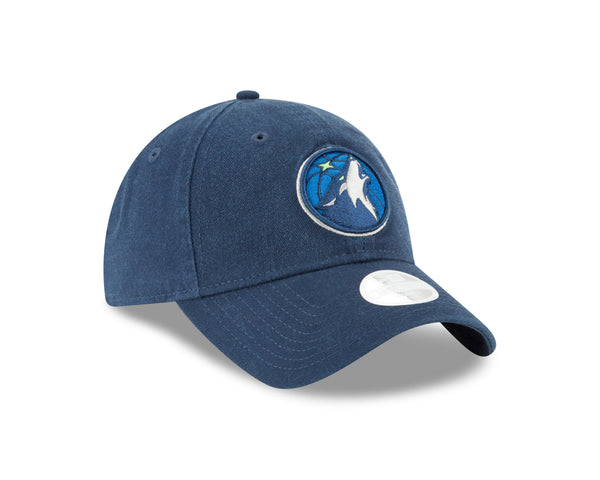 Minnesota Timberwolves Women's 9TWENTY Team Logo Adjustable Cap - Navy