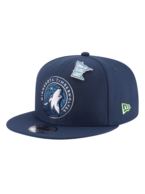 Minnesota Timberwolves 2018 Draft 9FIFTY Snapback Cap - Timberwolves Team Store