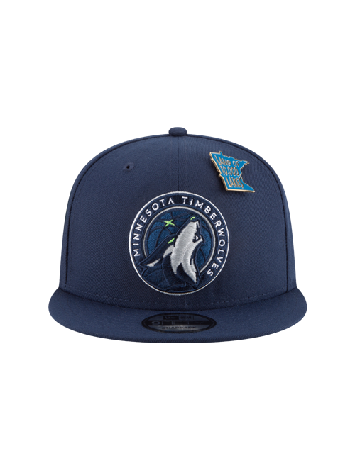 Minnesota Timberwolves 2018 Draft 9FIFTY Snapback Cap