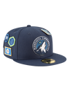 Minnesota Timberwolves 9FIFTY Faded Front Snapback Cap