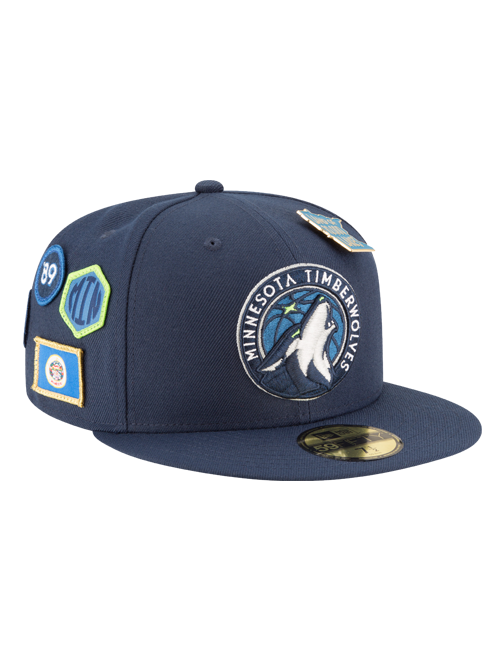 Minnesota Timberwolves 2018 Draft 59FIFTY Fitted Cap - Timberwolves Team Store