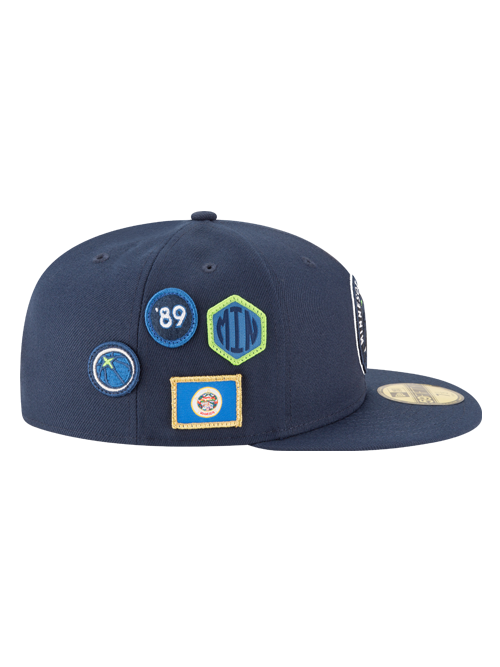 Minnesota Timberwolves 2018 Draft 59FIFTY Fitted Cap