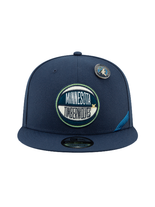 Minnesota Timberwolves 9FIFTY Authentic Draft Series Snapback Cap - Timberwolves Team Store