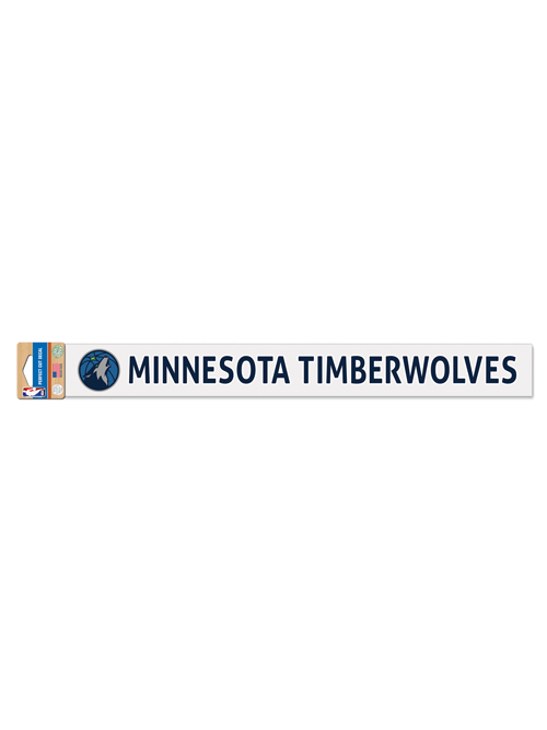 Minnesota Timberwolves 2x17 Perfect Cut Decal