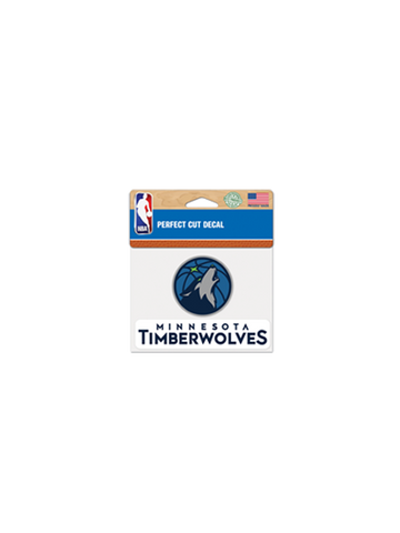 Minnesota Timberwolves 4x5 Perfect Cut Decal