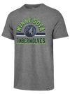 Minnesota Timberwolves Quarter Zip Headline Global Fleece