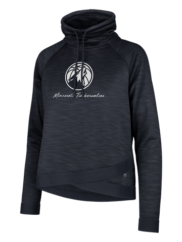 Minnesota Timberwolves Women's Funnel Neck Communter Hoodie