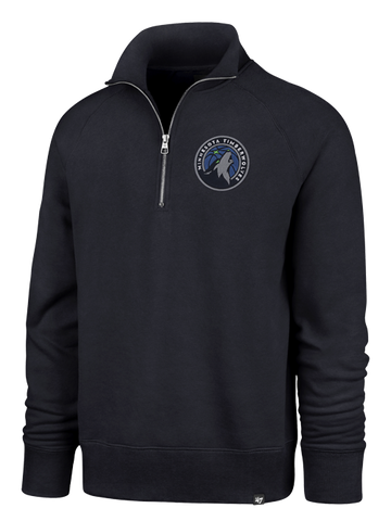 Minnesota Timberwovles Element Half-Zip Pullover - Black