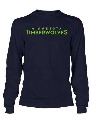 Minnesota Timberwovles Team Name T-Shirt