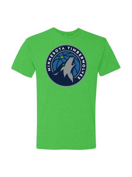 Minnesota Timberwolves Youth Green T-Shirt
