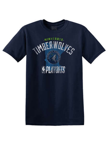 Minnesota Timberwolves State Playoffs T-Shirt