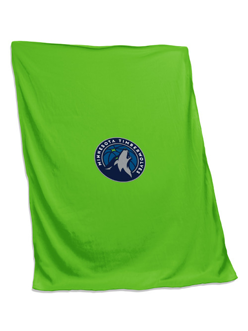 Minnesota Timberwolves Global Green Sweatshirt Blanket
