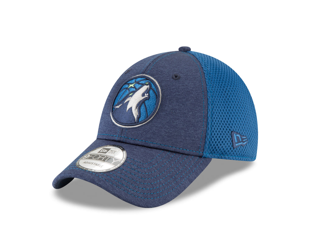 Minnesota Timberwolves 9FORTY Shadow Turn Two Tone Adjustable Cap - Timberwolves Team Store