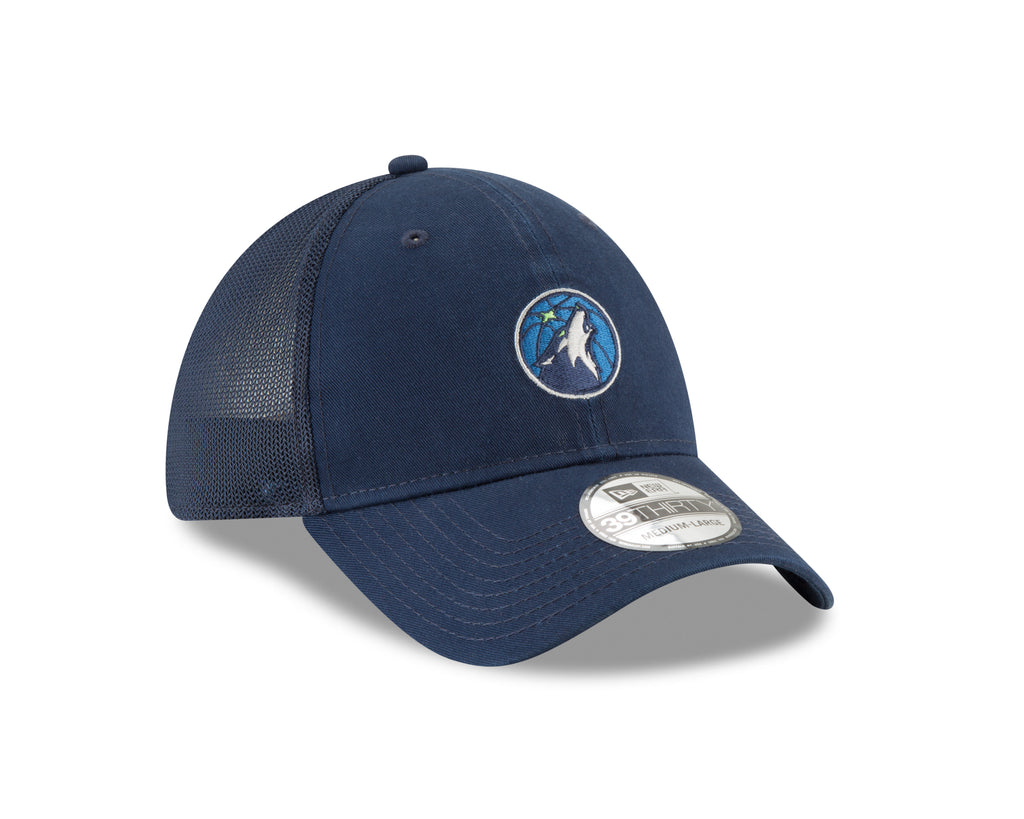 Minnesota Timberwolves 39THIRTY Team Precision Mesh Flex Cap