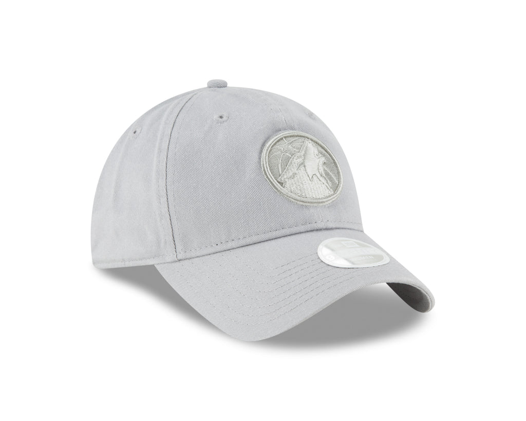 Minnesota Timberwolves Women's 9TWENTY Team Logo Adjustable Cap - Gray