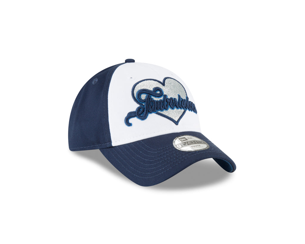 Minnesota Timberwolves Youth 9TWENTY Sparkly Fan Adjustable Cap - Timberwolves Team Store