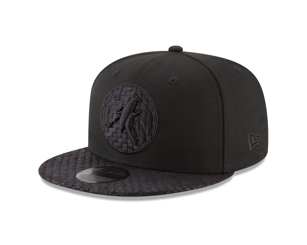 Minnesota Timberwolves 59FIFTY Logo Weave Fitted Cap - Timberwolves Team Store