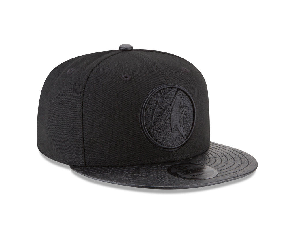 Minnesota Timberwolves 9FIFTY Camo Pressed Snapback Cap - Timberwolves Team Store
