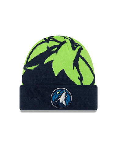 Minnesota Timberwolves Youth 9TWENTY Sparkly Fan Adjustable Cap