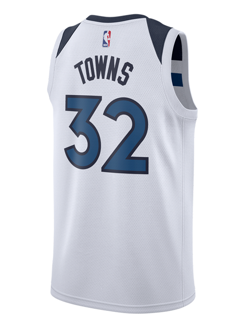 Minnesota Timberwolves Karl-Anthony Towns Association Swingman Jersey - Timberwolves Team Store