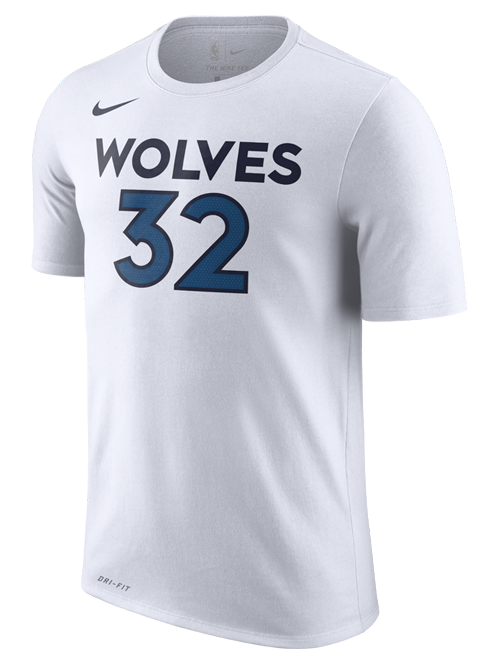 Minnesota Timberwolves Karl-Anthony Towns Authentic Association T-Shirt - Timberwolves Team Store