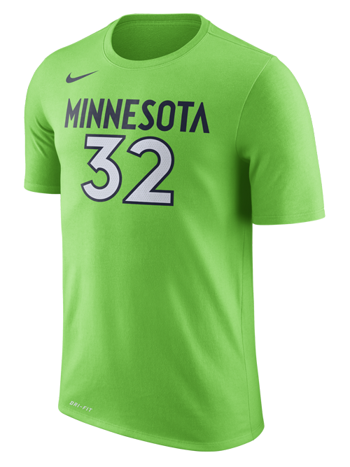 Minnesota Timberwolves Karl Anthony Towns Player Tee - Timberwolves Team Store