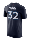 Minnesota Timberwolves Karl-Anthony Towns Authentic Icon T-Shirt - Timberwolves Team Store
