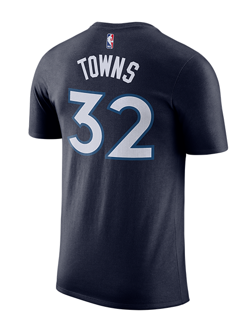 Minnesota Timberwolves Karl-Anthony Towns Authentic Icon T-Shirt