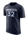 Minnesota Timberwolves Team Stripe Match T-Shirt