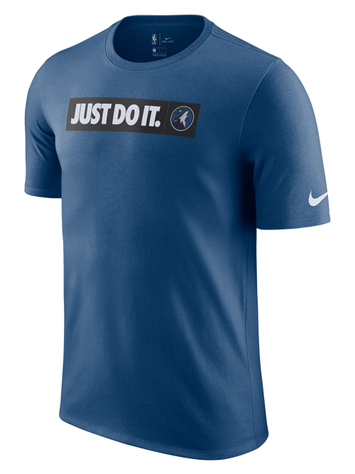 Minnesota Timberwovles Just Do It T-Shirt