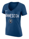 Minnesota Timberwolves Women's Wash V-Neck