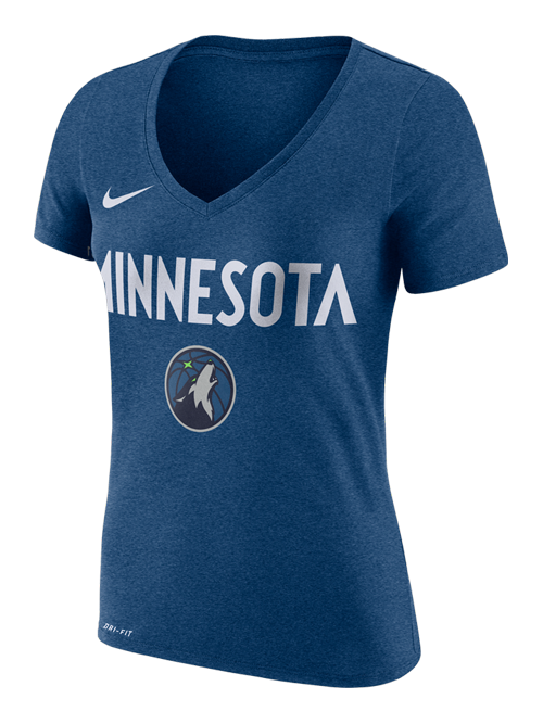 Minnesota Timberwolves Women's Wordmark T-Shirt